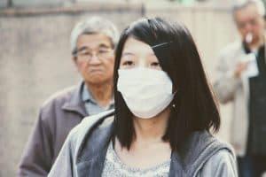 Medicininės kaukės ir koronavirusas